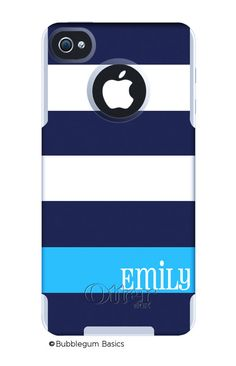 OTTERBOX Commuter iPhone 4/4s HTC Evo 4G Case Navy by iselltshirts, $55.00