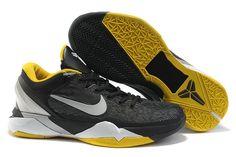 Nike Zoom Kobe VII Männerschuhe Schwarz Gelb