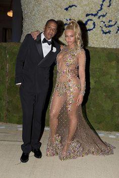 Beyonce & Jay Met Gala 2015