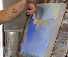 Abstract Landscape Painting Video Tutorial Painting di jgouveia