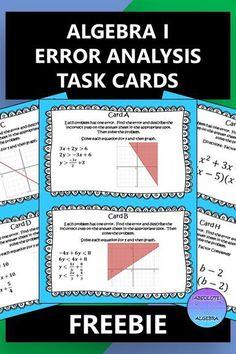 Algebra Activities, Math Resources, Teaching Math, Maths Fun, Math Class, Math Teacher, High School Algebra, Algebra 1, Standard Form