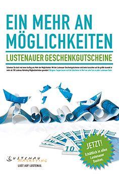 Ortsmarketing Lustenau Plakate | Design: zurgams Plakat Design, Marketing, Communication, Places