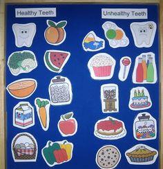 Healthy Teeth, Unhealthy Teeth
