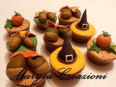 Cupcakes alle nocciole di Halloween
