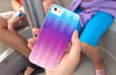 awesome ombre-ish case {if there's a diy that'll be cool and easy}
