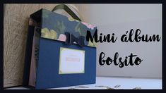 Tutorial mini album scrapbooking -  caja cadabra ritarita.es Mini Albums Scrap, Mini Scrapbook Albums, Diy Projects To Try, Junk Journal, Videos, Notebooks, Frame, Crafts, Youtube