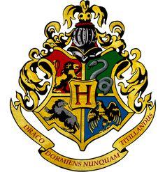 DIY de dessin Harry Potter (logo de Poudlard)