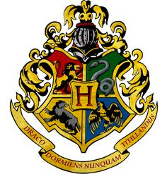 "Guys the text at the bottom of the crest literally means ""never tickle a sleeping dragon"" in Latin. That's hogwarts for you"