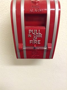 """Modularity: This fire alarm is a standardized unit in a more complex structure (ex. building or apartment.) This would be categorized as a """"signage system."""" This would be a signage system because everyone understands it no matter where they are. It is a universal sign meaning if it is pulled or the sound goes off, there is a fire. All fire alarms are designed very similar. The size and shape are about the same anywhere and they usually tend to be the color red."""