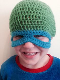A personal favourite from my Etsy shop https://www.etsy.com/uk/listing/387459418/ninja-turtle-beanie-mask