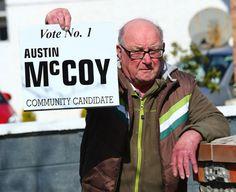 Veteran Austin rolls back the election years Rolls, Buns, Bread Rolls