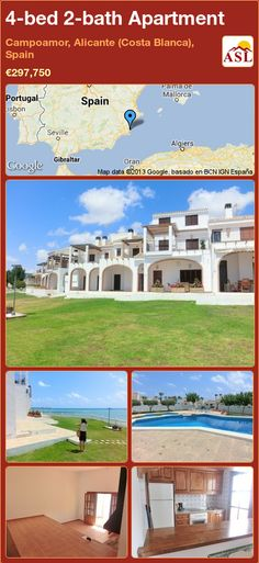 4-bed 2-bath Apartment in Campoamor, Alicante (Costa Blanca), Spain ►€297,750 #PropertyForSaleInSpain