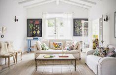 Uma casa com decoração inspiradora