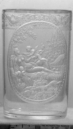 Standing cup  Date:     ca. 1725  Culture:     Bohemian, Riesengebirge (Krkonoše)  Medium:     Glass