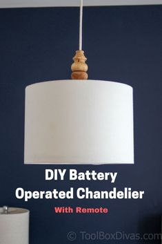 DIY light fixture. D