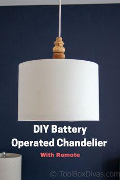 DIY light fixture. D