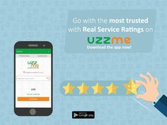 Want to know how is your nearby services before you book? Why not check the user ratings on UzzMe? Book in a smart way with real-time user ratings for each service. Play Store App, Hyderabad, Promotion, Check, Books, Livros, Libros, Book, Book Illustrations