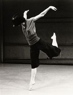 ****Dana Reitz, Post-modern Dance  Foto: Nathaniel Tilesto / I danced with Dana in NY...