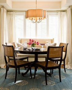 Kitchen Nook, Breakfast Area, Dining Room, By Colleen McGill Of McGill  Design Group And Plum Furniture