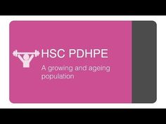 <HSC PDHPE Core 1> - A growing and ageing population - YouTube