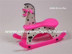 Rocking horse cutter set/ Juego de cortadores de caballito mesedora