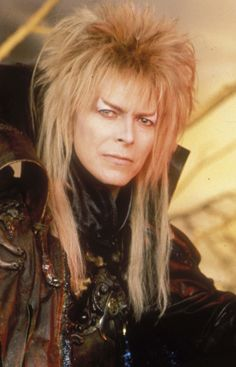 Jareth The Goblin King - David Bowie is the closest anyone will ever get to being a real life anime character.
