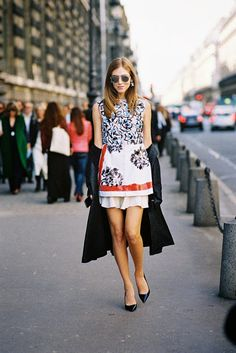 chiara ferragni, paris, march 2015 // vanessa jackman