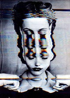 Glitch, collages and manipulated art Glitch Art, Psychedelic Art, Images Pop Art, Bad Trip, Psy Art, Photocollage, Arte Horror, Grafik Design, Art Inspo