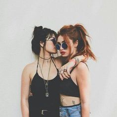 Clary and Isabelle