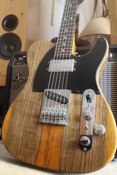 Hybrid Tele with humbucker and single coil pickups