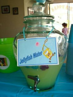 Spongebob party drinks