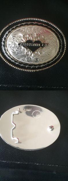 Belt Buckles 163573: Montana Silversmith Cowgirl Up Buckle -> BUY IT NOW ONLY: $75 on eBay!
