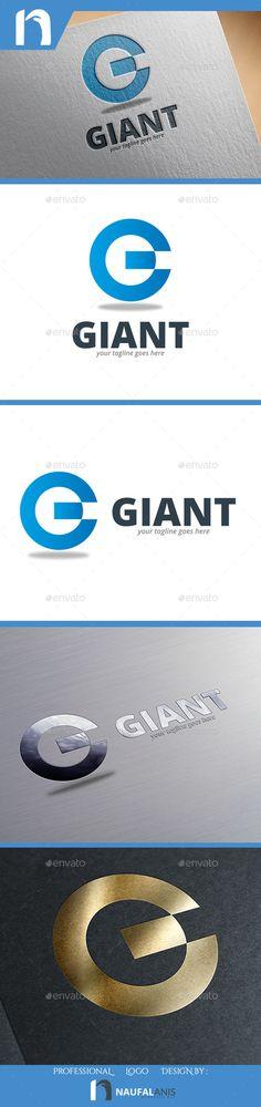 Giant - Letter G Logo  (AI Illustrator, Resizable, CS, blue, bussines, elegant, g, g letter, modern, new, professional, urban)