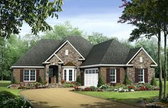 HPG-1917-1-The Greystone Heights is a 3303 sq. ft./ 3 bedroom/ 2 bath house plan that you can purchase for $750.00 and view online at http://www.houseplangallery.com/HPG-1917-1.