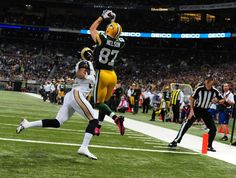Another spectacular catch by Jordy Nelson.