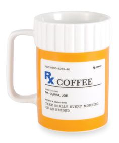 Take a look at this 'Rx' Ceramic Mug on zulily today!