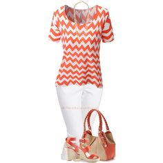 58314af6a1 Chevron Print Top - Plus Size Fashion