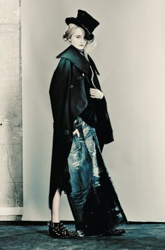 "Vogue Italia March 2014 (""The Ultimate Black"" by Paolo Roversi)"