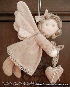 Ange de Noël Textile