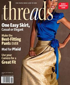 Threads magazine 134 january 2008 by Pennie Annie - issuu