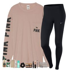 """""""Guys I can't wait till CHRISTMAS!!!!! """" by mmprep on Polyvore featuring Victoria's Secret, NIKE, Michael Kors, T3, Miss Selfridge, Kate Spade and Anastasia Beverly Hills"""