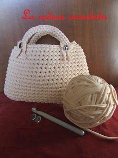 172 Fantastiche Immagini Su Borse In Fettuccia Crochet Bags