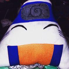 Naruto, Tokyo Ghoul, Harry Potter custom riceballs/ onigiri plushies on my Etsy.