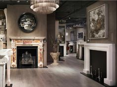 Our #NewYork showroom opened, with a huge range of #fireplaces on display