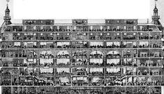The Printemps Department Store, Paris, France, 1885 / Section