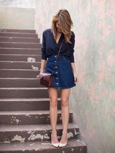 Fashion Fix: Spijkerrok - My Simply Special