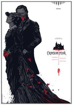 The 23 Best Guillermo del Toro Movie Posters. #CrimsonPeak