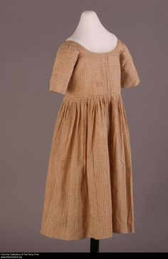 Child's Dress, 1780-1830