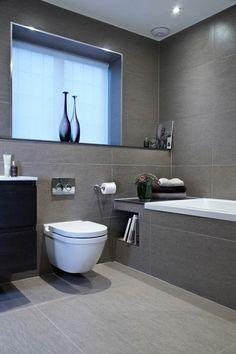 Die 10 besten Bilder von Badezimmer fliesen grau   Bathroom ...
