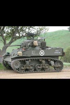 M3 Stuart United States light tank